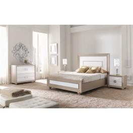 dormitorio matrimonio en madera
